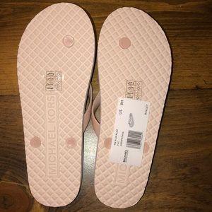 Michael Kors Shoes - SOLD Michael Kors flip flops